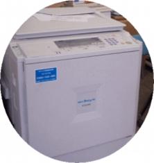 チラシ印刷機(簡易)